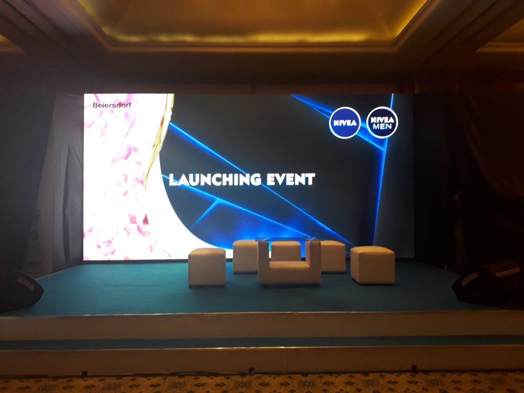 LED Screen untuk kebutuhan promosi seperti Launching Produk