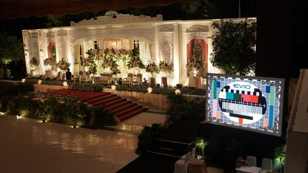 LED Screen Wedding