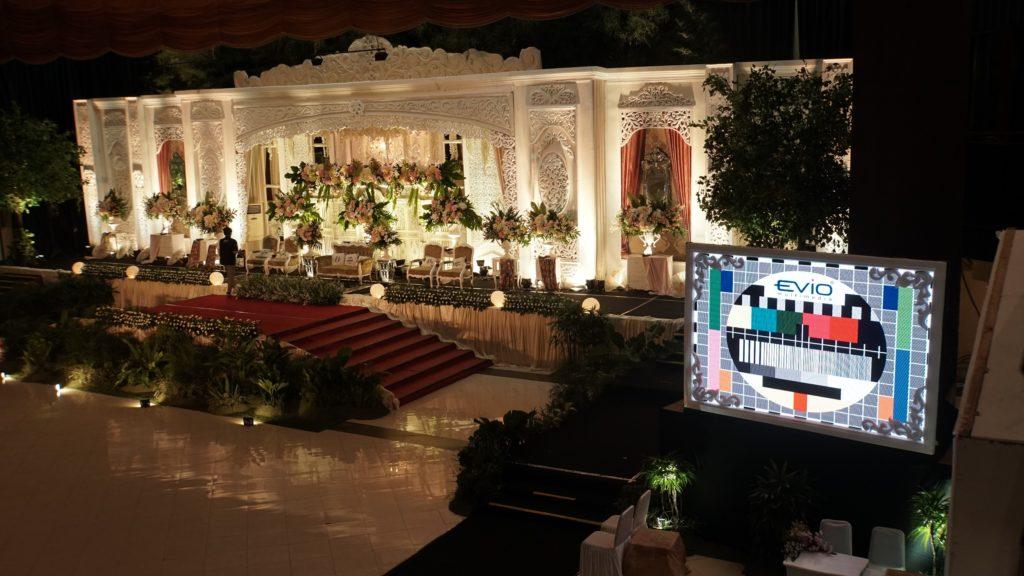 LED Screen Untuk Wedding Event